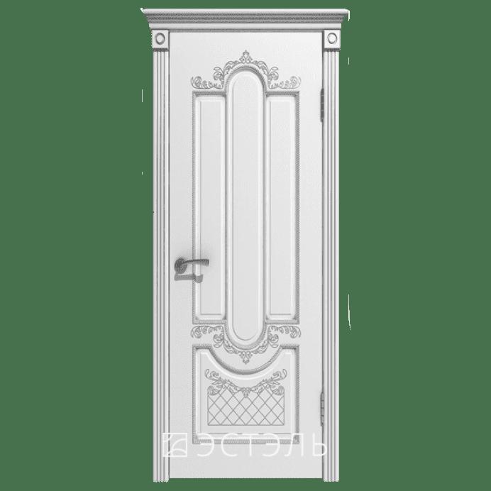 Дверь межкомнатная Эмалированная. Модель Александрия ДГ Эмаль белая
