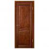 Дверь межкомнатная из массива ольхи. Модель Верона ДГ Бренди