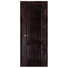 Дверь межкомнатная из массива сосны. Модель Франческо ДГ Венге