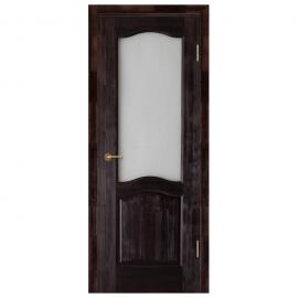 Дверь межкомнатная из массива сосны. Модель Франческо ДО Венге