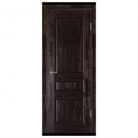 Дверь межкомнатная из массива сосны. Модель Леонардо ДГ Венге