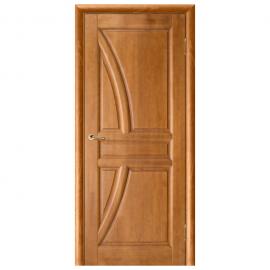 Дверь межкомнатная из массива сосны. Модель Моне ДГ Орех