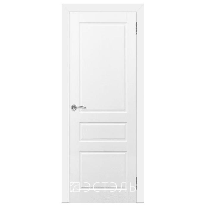 Дверь межкомнатная Эмалированная. Модель Честер ДГ Эмаль белая