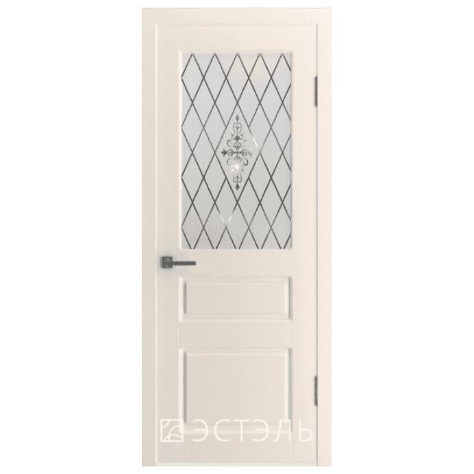 Дверь межкомнатная Эмалированная. Модель Честер ДО Эмаль слоновая кость