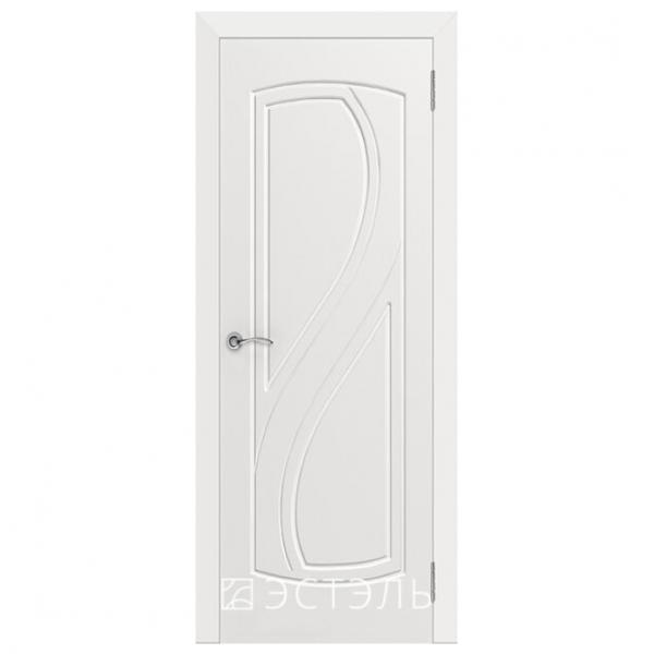 Дверь межкомнатная Эмалированная. Модель Грация ДГ Эмаль белая