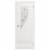 Дверь межкомнатная Эмалированная. Модель Грация ДО Эмаль белая