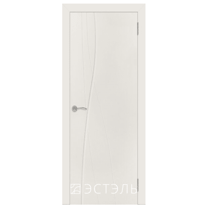 Дверь межкомнатная Эмалированная. Модель Граффити 1 ДГ Эмаль слоновая кость
