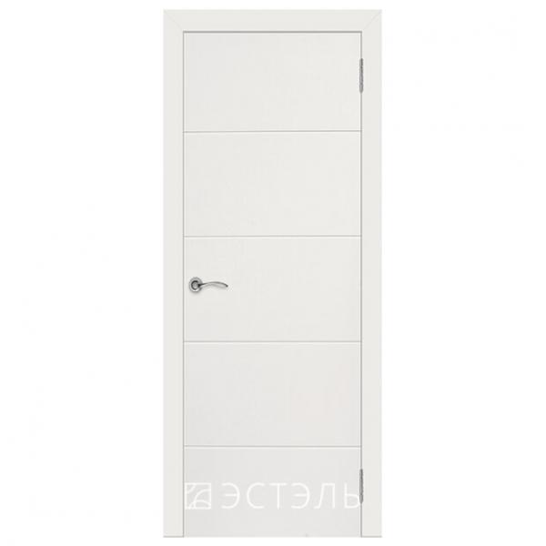 Дверь межкомнатная Эмалированная. Модель Граффити 2 ДГ Белая эмаль