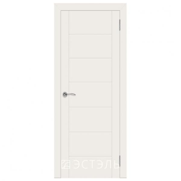 Дверь межкомнатная Эмалированная. Модель Граффити 6 ДГ Эмаль слоновая кость