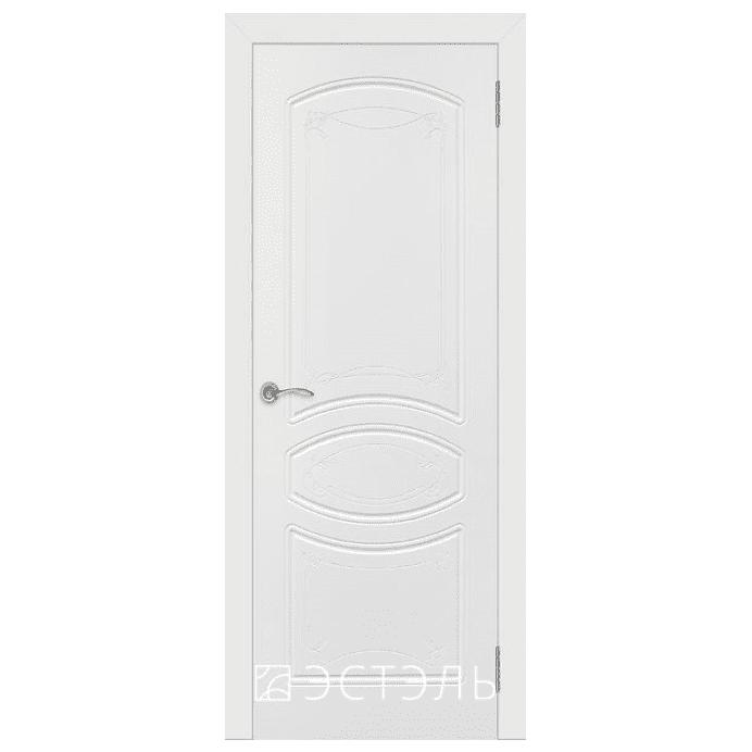 Дверь межкомнатная Эмалированная. Модель Версаль ДГ Эмаль белая