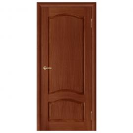 Дверь межкомнатная Шпонированная дубом. Модель Дельта ПГ Орех