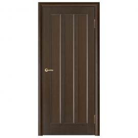 Дверь межкомнатная Шпонированная дубом. Модель Гутта ПГ Венге