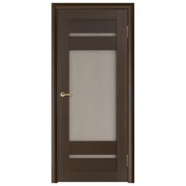 Дверь межкомнатная Шпонированная дубом. Модель Вега 7 ПО Венге