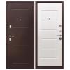 Дверь входная 7.5 Гарда Антик, Белый ясень