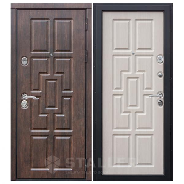 Дверь входная Сталлер. Модель Квадро