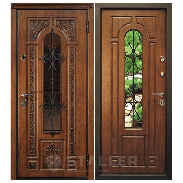 Дверь входная Сталлер. Модель Лацио