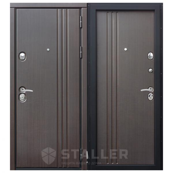 Дверь входная Сталлер. Модель Лайн