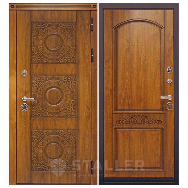 Дверь входная Сталлер. Модель Милано