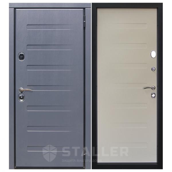Дверь входная Сталлер. Модель Пиано