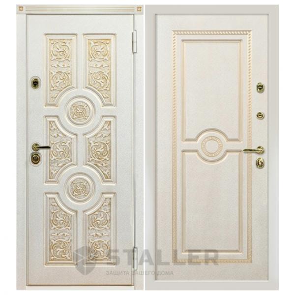 Дверь входная Сталлер. Модель Версаче
