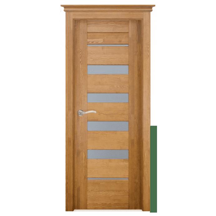Межкомнатная дверь Массив структурированной сосны Альта 2. Мед