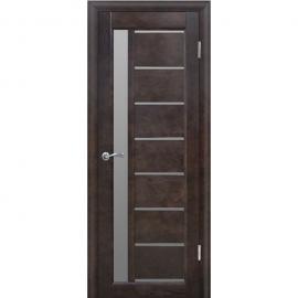 Дверь межкомнатная из массива сосны Вега 9 Венге