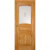 Дверь межкомнатная из массива сосны Модель 16 ДО Светлый лак