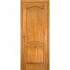 Дверь межкомнатная из массива сосны Модель 7 ДГ Светлый лак