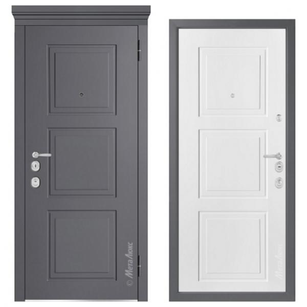 Дверь входная Металюкс MILANO М1010/5 E