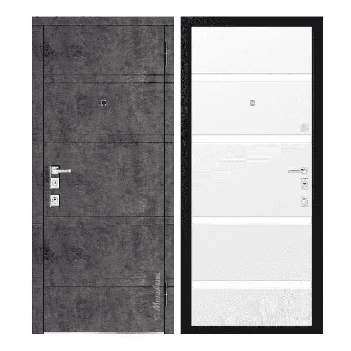 Дверь входная Металюкс MILANO М1300/8