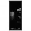 Дверь входная Сталлер. Модель Лика черный