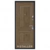 Дверь входная Сталлер. Модель Нова дуб салинас темный