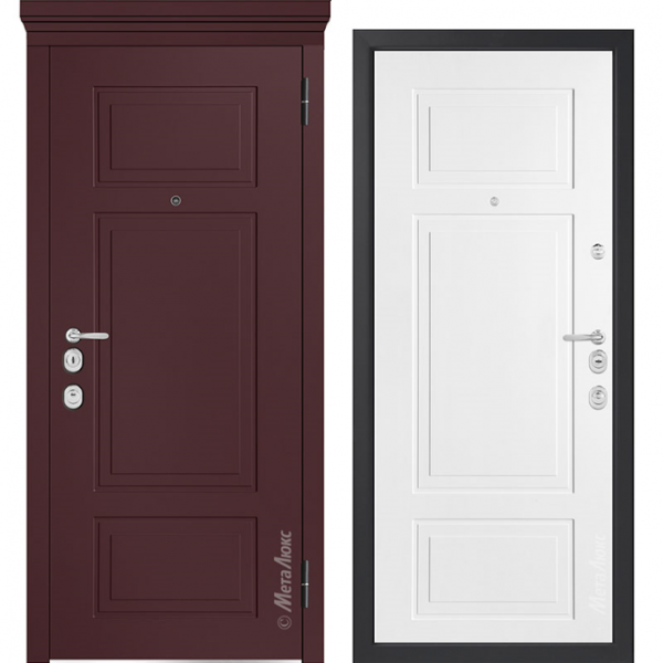 Дверь входная Металюкс MILANO М1011/14 E