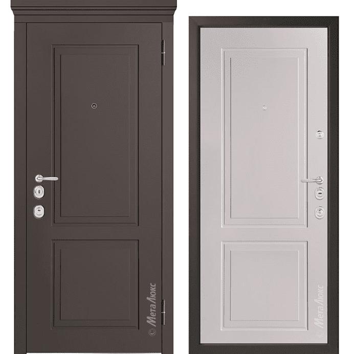 Дверь входная Металюкс MILANO М1012/10 E