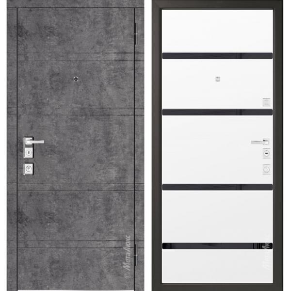 Дверь входная Металюкс MILANO М1300/9