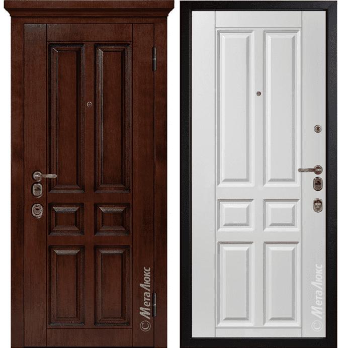 Дверь входная Металюкс ArtWood М1701/7 е2