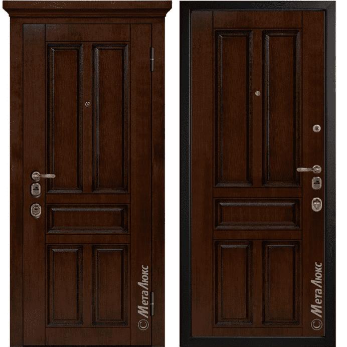 Дверь входная Металюкс ArtWood М1704/11
