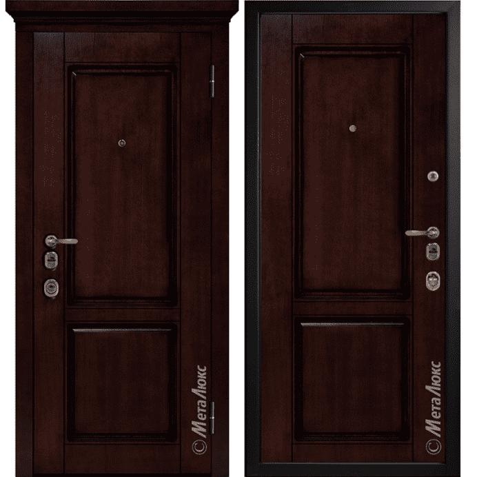 Дверь входная Металюкс ArtWood М1706/8