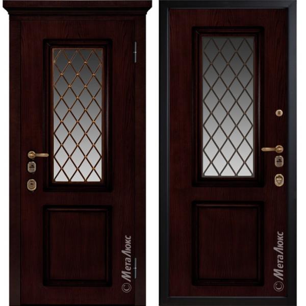 Дверь входная Металюкс ArtWood М1710/8