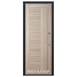 Дверь входная МеталЮр М17. Капучино мелинга