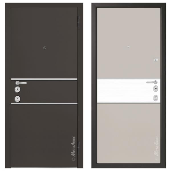Дверь входная Металюкс MILANO М1402