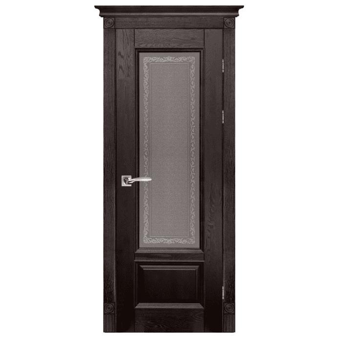 Межкомнатная дверь Массив дуба Аристократ 4. Венге
