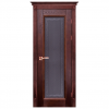 Межкомнатная дверь Массив дуба Аристократ 5. Махагон