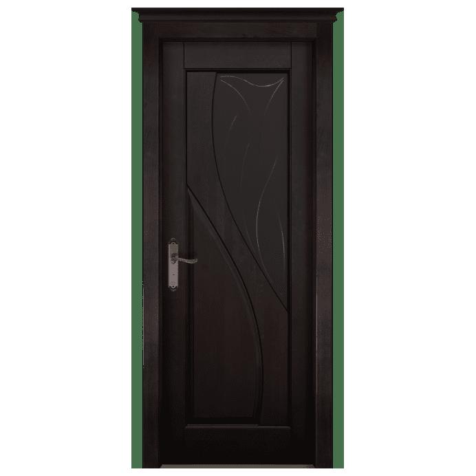 Межкомнатная дверь Массив ольхи Даяна 2. Венге
