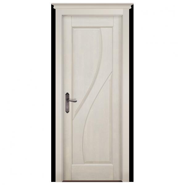 Межкомнатная дверь Массив ольхи Даяна. Белый (эмаль)