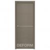 Межкомнатная дверь Экошпон Deform H10. Дуб французский серый