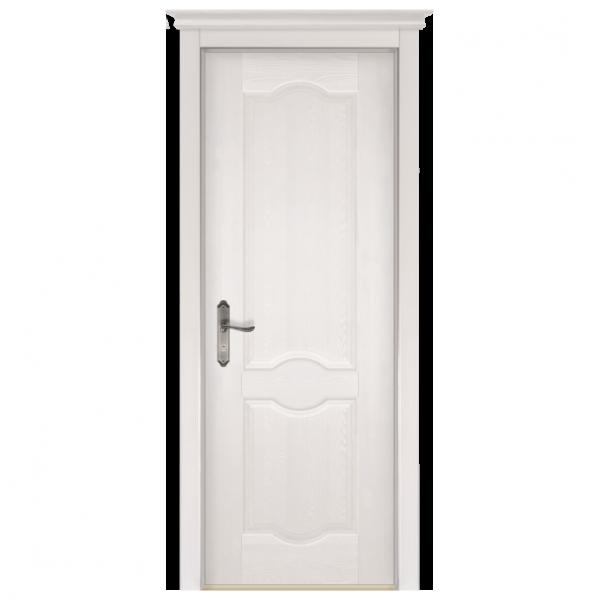 Межкомнатная дверь Массив сосны Ферара. Слоновая кость