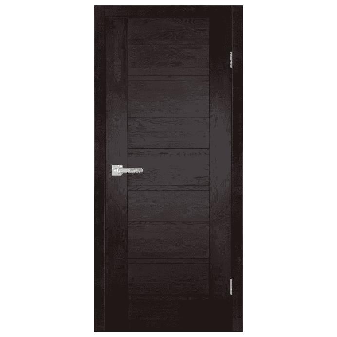 Межкомнатная дверь Массив дуба Хай-тек 4. Венге