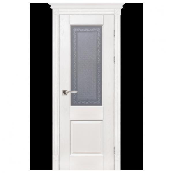 Межкомнатная дверь Массив дуба Классик 2. Вайт