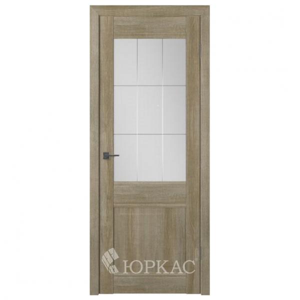 Межкомнатная дверь Экошпон Лайт модель 26 ДО. Дуб Мокко